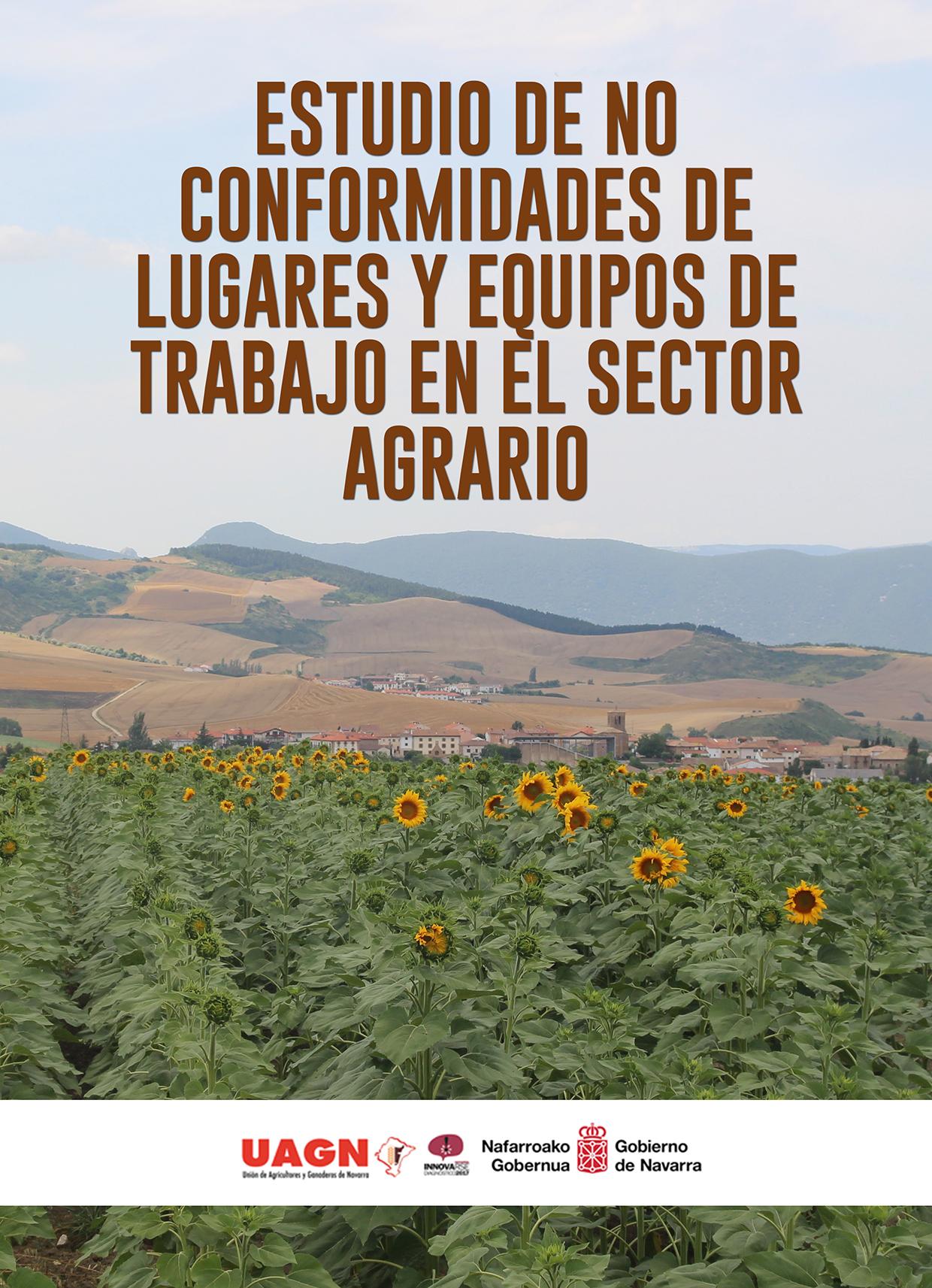 Estudio de no conformidades de lugares y equipos de trabajo en el sector agrario