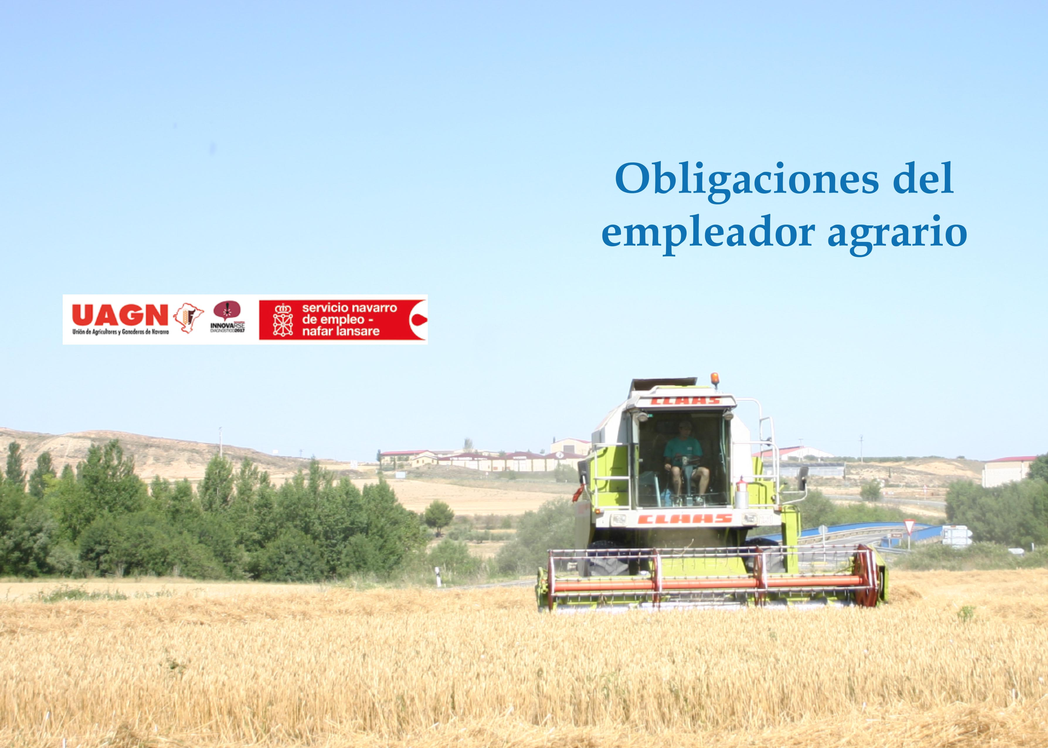 Obligaciones del empleador agrario
