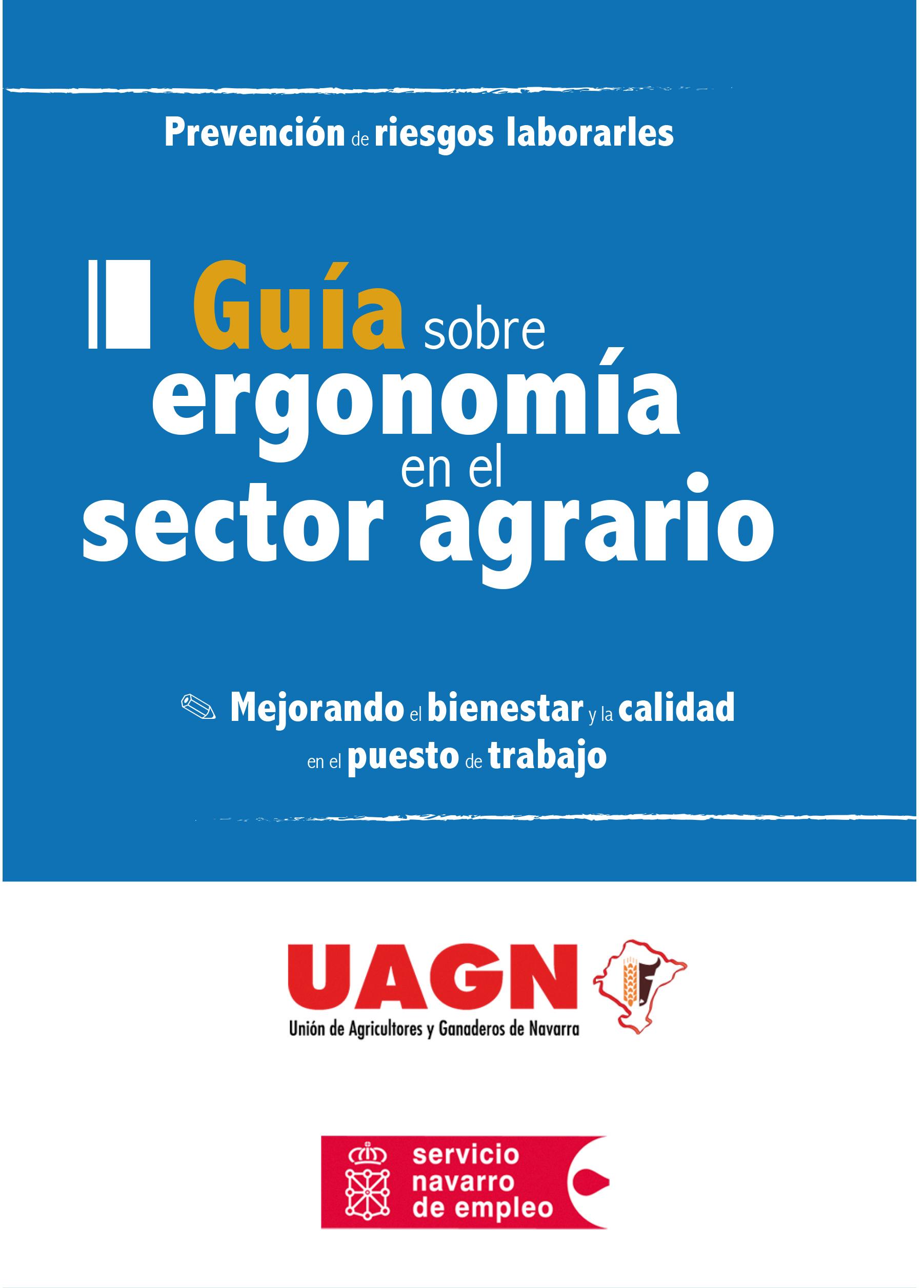 Guía sobre ergonomía en el sector agrario