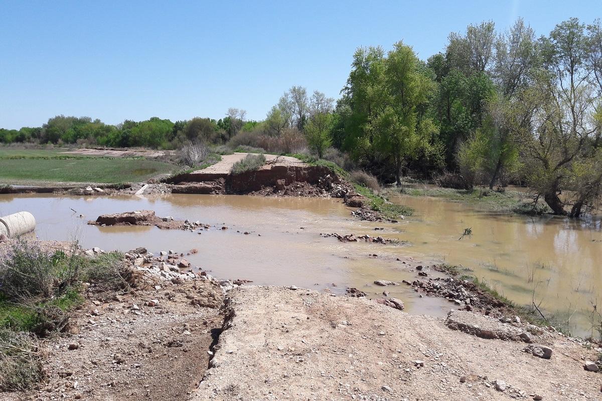 Inundaciones Fustiñana