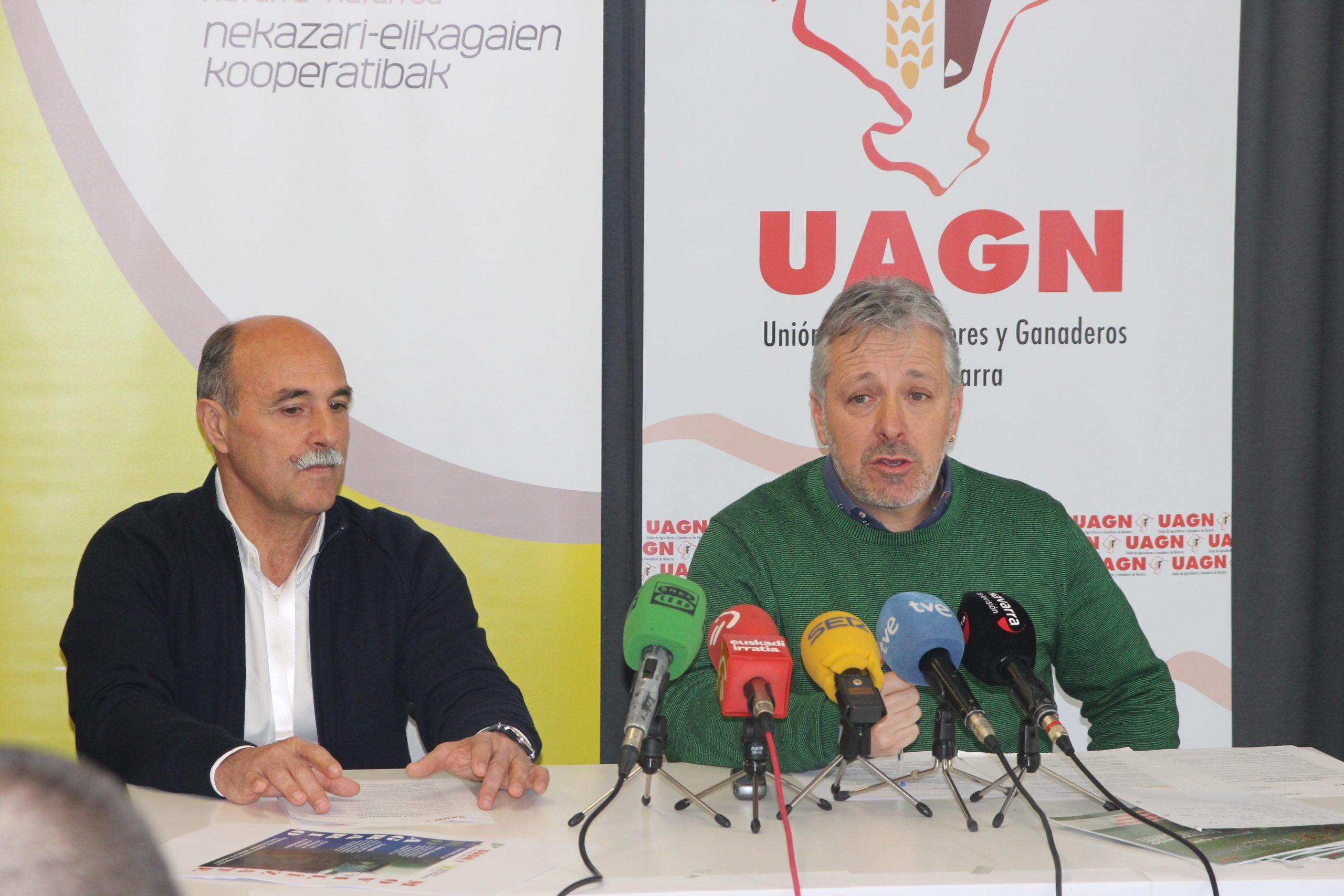 UAGN y UCAN anuncian en rueda de prensa la manifestación del 19 de febrero