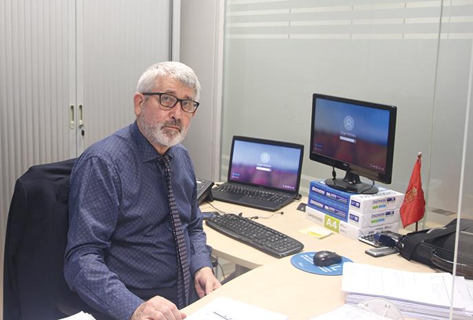 Ángel Remirez, responsable jurídico de UAGN