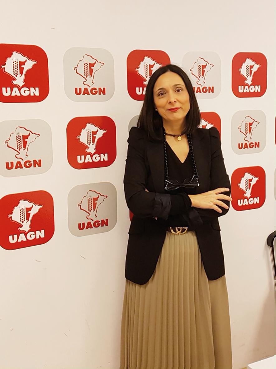 Delia Gonzalez, responsable de oficina en Tudela